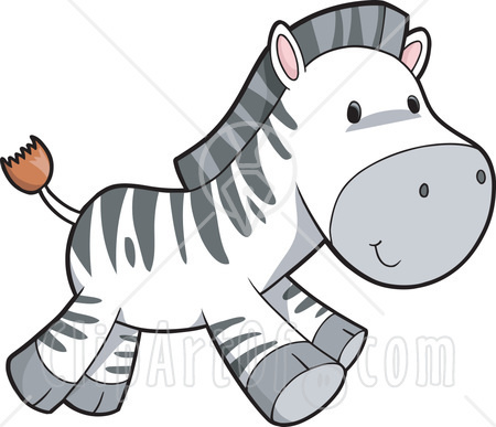 13547-Cute-Happy-Go-Lucky-Zebra-Running-Clipart-Illustration